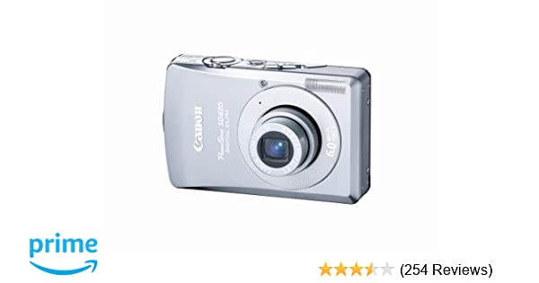 Amazon Canon PowerShot SD630 6MP Digital Elph Camera With 3x Optical Zoom OLD MODEL Point And Shoot Cameras Photo