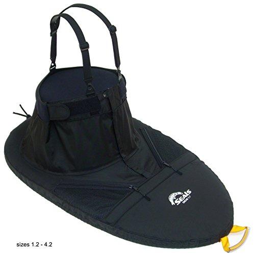 (SEALS Sneak Sprayskirt, 1.7 Black One Size)