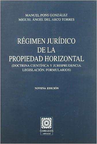 Descargar gratis audiolibros en ingles mp3 Regimen juridico de la propiedad horizontal ( doctrina cientifica y ju 8498361710 in Spanish PDF