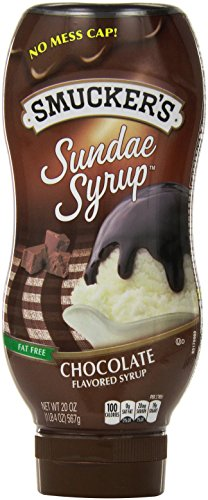 Smuckers Sundae Syrup Chocolate Flavored Syrup  20 Ounce  Pack Of 12