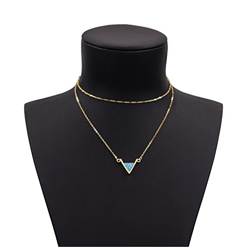 Boosic Layered Necklace Dainty Chokers
