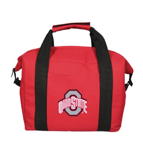 (NCAA Ohio State Buckeyes Soft Sided 12-Pack Cooler Bag)