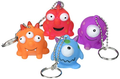(Amscan Monster Keychains | Party Favor | 72)