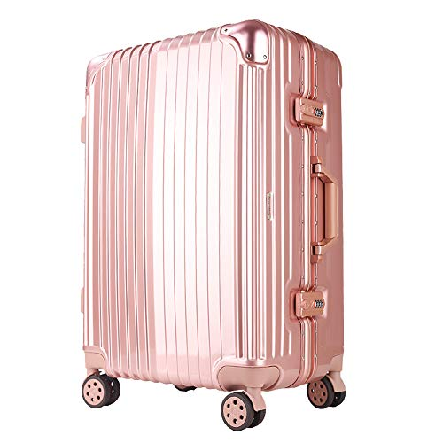 Amazon.com : Lightweight Abs Hard Case Suitcase - 8 Wheel Carrying Travel Suitcase - Waterproof and Wearable Travel Case - 20