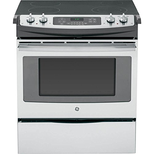 GE JS630SFSS Stainless Electric Smoothtop