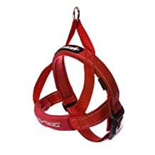 EzyDog Quick Fit Dog Harness, X-Large, Red