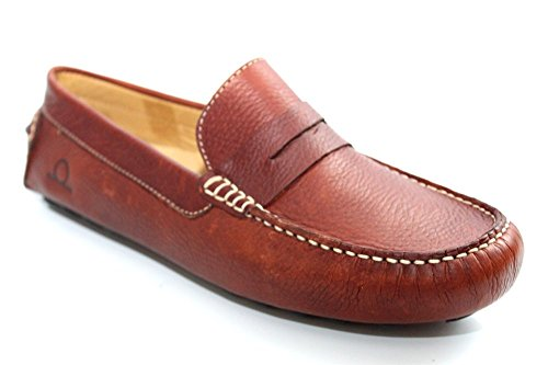 Chatham Marine G0416B - Chaussures bateau pour hommes - cuir marron