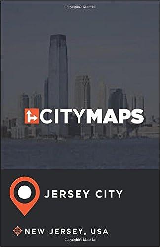 City Maps Jersey City New Jersey, USA