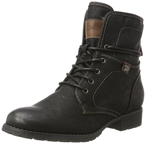 Tailor Tom Schwarz Boots Women's black 3797302 0dwUf