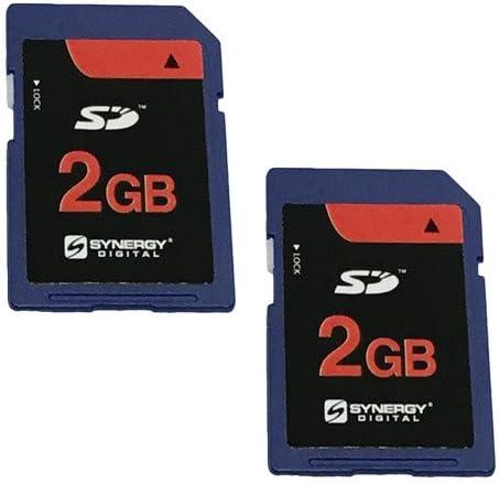 SD Sony Alpha A5000 Digital Camera Memory Card 2x 2GB Standard Secure Digital Memory Card 1 Twin Pack