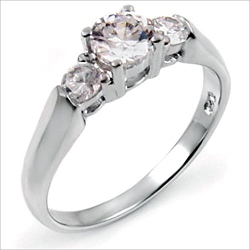 0.5 Ct Three Stone - 1