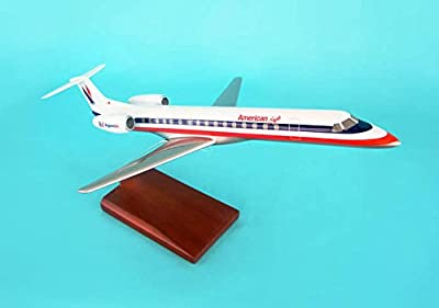 Executive Series G12110 American Eagle Embraer ERJ-145 1:72 Scale Display Model with Stand