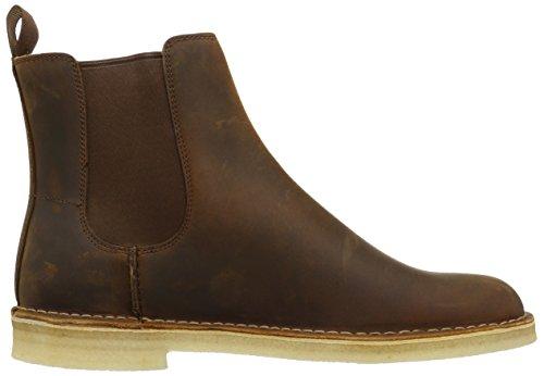 CLARKS Mens Desert Peak Chelsea Boot Beeswax Leather yXkO082DJF