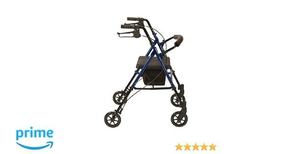 Drive Medical R8BLHA - Silla andador con ruedas (aluminio, altura ...