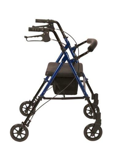 Drive Medical R8BLHA - Silla andador con ruedas (aluminio ...