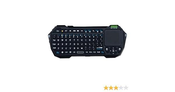 TenGO RT3067BT Teclado inalámbrico 2.4G & Mando TV: Amazon.es: Informática