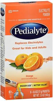 Pedialyte Orange Size 6ct