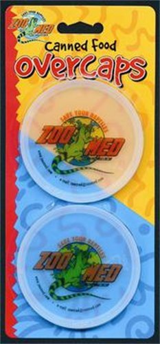 Zoo Med Laboratories Szmzm100 Canned Food Overcaps