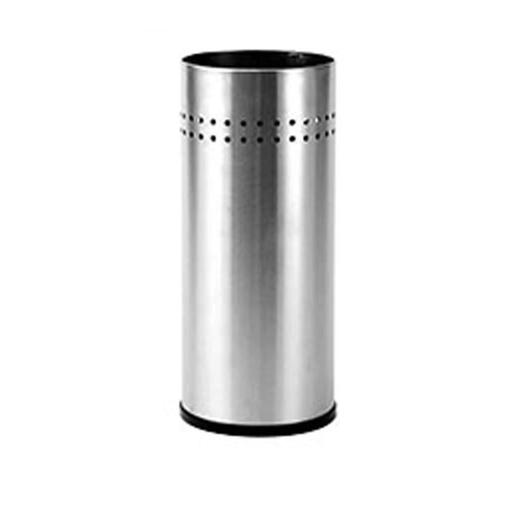 YSJJH Umbrella Holder Stainless Steel Barrel 21.550cm Household Umbrella Stand Round Storage Rack Office Umbrella Stand Trash Can Storage Bucket