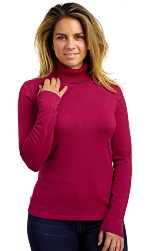 Silk Blend Turtleneck Sweater - 3
