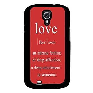 Cool Painting Love Quote Samsung Galaxy S4 I9500 Case Fits Samsung Galaxy S4 I9500