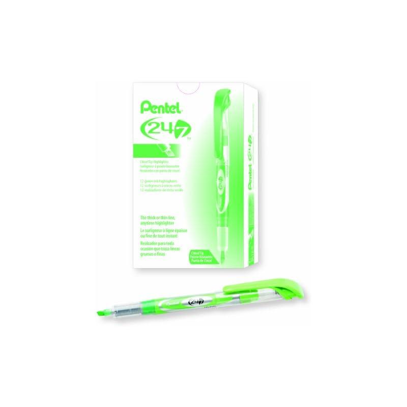 pentel-24-7-chisel-tip-liquid-highlighter