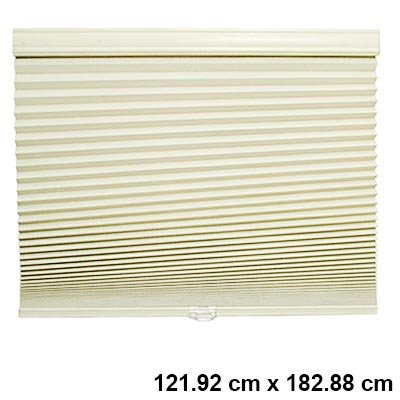 Sandstone 3/8 in. Cordless Blackout Cellular Shade - 48 in. W x 72 in. L