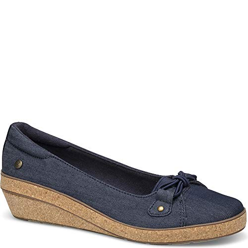 - Grasshoppers Betty Wedge Women 8 Peacoat Navy Denim