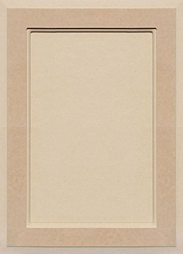 Unfinished MDF Square Flat Panel Cabinet Door by Kendor, 18H x 13W