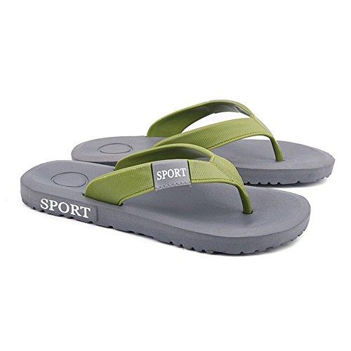infradito Dimensione EU 45 Sandali Grigio Sandalo classico shoes con Blu da 2018 uomo infradito Xujw Color da Uomo infradito qTH7wZxa