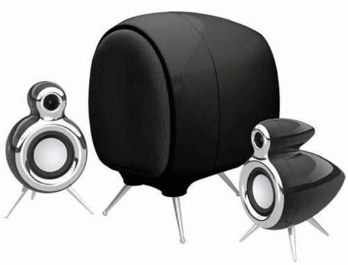 OSD Audio Classic-1 Black 2.1 Desktop Computer Speaker System [並行輸入品] B07HRPT9PR