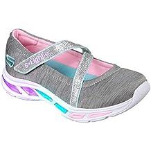 Skechers Kids' Litebeams-Spin N'sparkle Sneaker