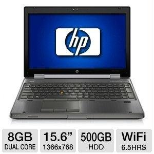 HP Elitebook 8560W Laptop i7 2.3GHz - 8GB Memory DDR3 - 320GB Hard Drive - DVD-RW - Windows 10 Professional (CertifiedRefurbished)