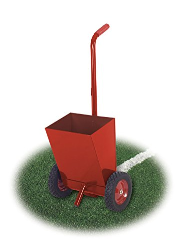 CR25 Chalk Line Marker - 2-Wheel Line Marker. Perfect for lining out baseball or softball fields. Lightweight design makes this unit easy to use. Holds 25 lbs. of chalk. Comes with a 5 year - Baseball Field Lining