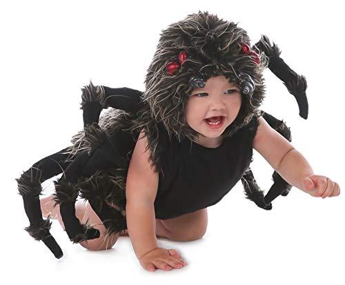 Baby Scary Halloween Costumes (Princess Paradise Baby Boy's Talan The Trantula Costume, Black,)