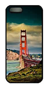 Bridges sparkle iphone 5 covers PC Black for Apple iPhone 5/5S