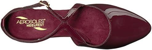 Aerosoles Women's Onward Dress Pump, mid red Patent, 8.5 M US