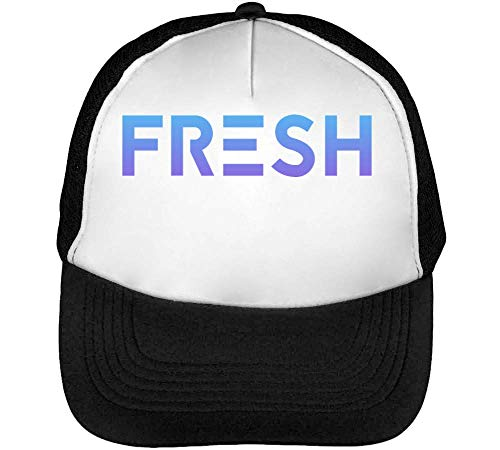 Beisbol Blanco Snapback Hombre Slogan New Futuristic Gorras Age Negro Fresh qvSwZS