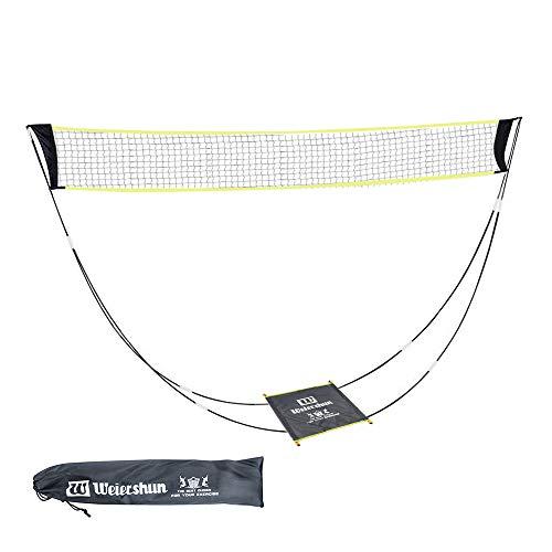 KIKILIVE Portable Badminton Net