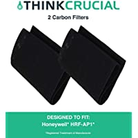 2 Replacements for Honeywell A Carbon Filter Fits HRF-AP1 Air Purifiers, Compatible With Part # 38002, by Think Crucial