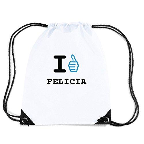 JOllify FELICIA Turnbeutel Tasche GYM5350 Design: I like - Ich mag oK0BN5oX