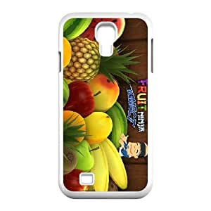 HD Beautiful image for Samsung Galaxy S4 9500 Cell Phone Case White fruit ninja kinect game HOR5691279
