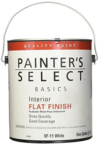 True Value VF11-GL PSB-Gallon White Flat Paint