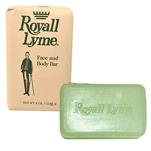 Royall Lyme face and body soap