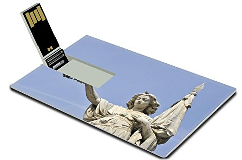 Luxlady 32GB USB Flash Drive 2.0 Memory Stick Credit Card Size Brescia Italy the monument dedicated to the people Brescia rebelled against IMAGE - Center Mo Independence Independence
