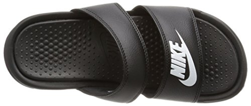 Black Zehentrenner Schwarz Nike Benassi 010 Slide Duo Ultra Wmns White Damen xRYfwYqZ8