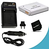 High Capacity Replacement Canon NB-6L / NB-6LH Battery with AC/DC Quick Charger Kit for Canon PowerShot SX600 HS Digital Camera