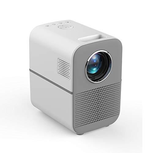 Proyector, proyector HD portátil de casa, AI Control de Voz 3D TV ...