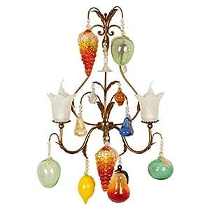 Tredici Design Wall Lamp, Multi Color - 1325.2fg