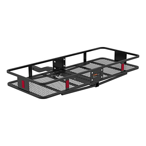 CURT 18153 Basket-Style Cargo Carrier - 2' Front Receiver Hitch